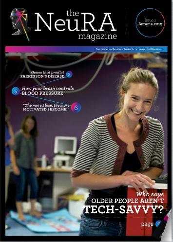 NeuRA Magazine cover