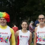 NeuRA Charity Superstars Grant Simpson, Bess Stewart and Nigel Walker